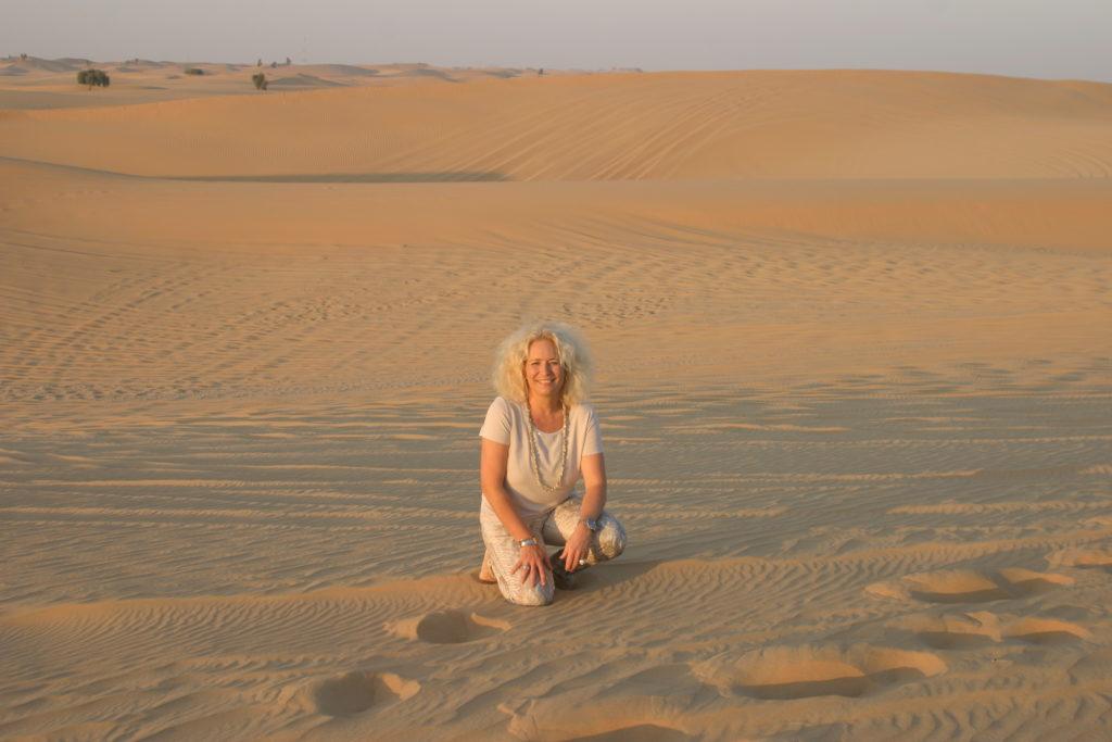 in der Wüste -Abu Dhabi