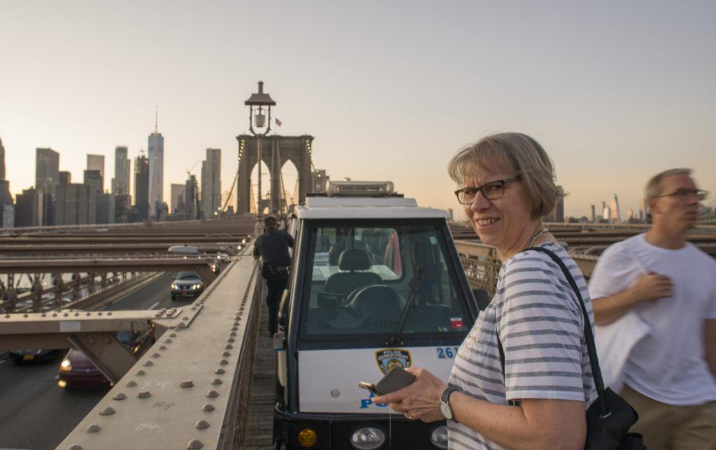 New York, Brooklin Bridge 1, 2019